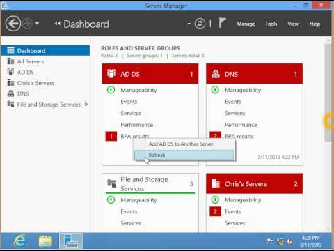 What's New in Windows Server 2012, Episode 5: Server Manager - Multi Remote Server Mgmt
