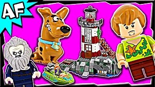 getlinkyoutube.com-Lego Scooby-Doo HAUNTED LIGHTHOUSE 75903 Stop Motion Build Review