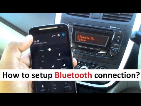 Bluetooth Setup Process - Mobile Car Wireless Connectivity