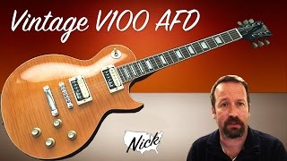 Guitar Review -Vintage V100 AFD PA RA DI 53 Is Gibson Scared? Only Les Paul Would Know!
