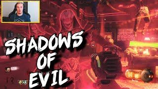 getlinkyoutube.com-Black Ops 3 Zombies: 'Shadows Of Evil' First Live Attempt!