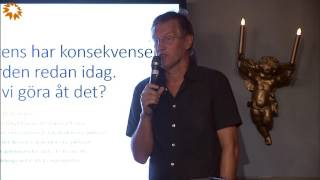 Antibiotikaresistenta har konsekvenser för sjukvården redan idag - Anders Tegnell