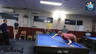 Billiard 3Cushion 2018 Professional Carom Billiards Torbjörn Blomdahl in Viet Nam Song Khoi Club