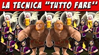 getlinkyoutube.com-GIWIHE La tecnica TUTTO FARE!! TH 7/8/9/10 - Clash of Clans ITA