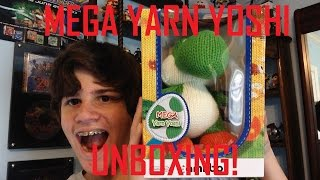 getlinkyoutube.com-MEGA YARN YOSHI AMIIBO UNBOXING! -OutstandingOshawott2