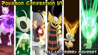 getlinkyoutube.com-Pokemon Generation VI - Legendary Pokemon [Strongest & Signature Moves #1]