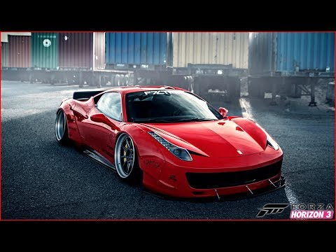 FERRARI 458 LIBERTY WALK VS BMW M4 LIBERTY WALK??? - Forza Horizon 3