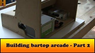 getlinkyoutube.com-Building bartop arcade - Part 2