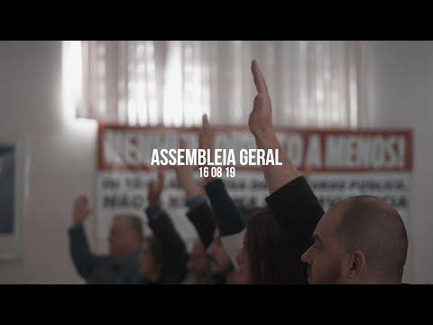 Assembleia Geral, 16 de agosto, data-base corre risco