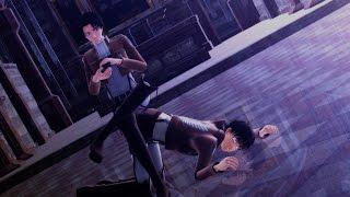getlinkyoutube.com-[MMD SnK] Gentleman [Eren & Livaï]