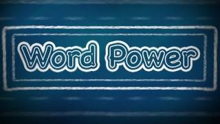 Word Power:  F (Part 2), English Lessons for Beginners