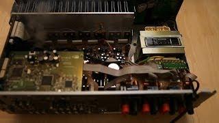 getlinkyoutube.com-Onkyo digital home theatre receiver amplifier extreme teardown