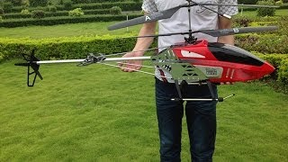 getlinkyoutube.com-RC Toys BR6508 130cm 2.4G 3 Channel Big RC Helicopter with Camera from China Hobby Model Factory
