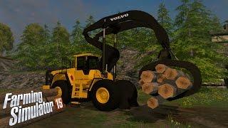 getlinkyoutube.com-Farming Simulator 15: Volvo L180H HL