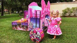 getlinkyoutube.com-✿ МИННИ МАУС и КОНФЕТЫ Minnie Mouse Mickey Toys Minnie's Bow Toons Candy sweets Клуб Микки Маусa