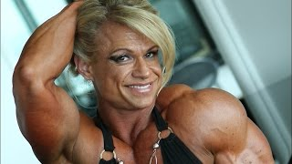 getlinkyoutube.com-Sexy muscle women Tina Chandler Female Bodybuilding Tina Chandler