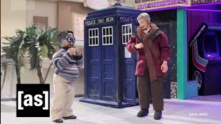 getlinkyoutube.com-Doctor Who Meets The Nerd | Robot Chicken | Adult Swim