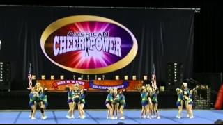 getlinkyoutube.com-Jersey All Stars L2 Small Junior - EMERALDS - 1st Place - American Cheer Power, Trenton 3/21/15