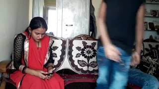 Indian fight / husband and wife