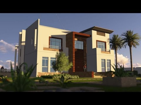 Contemporary House - Animation - Dream Homes تصاميم فلل - فيلا 2