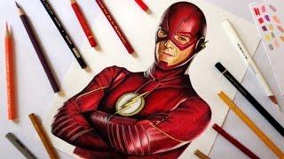 getlinkyoutube.com-Speed Drawing: The Flash