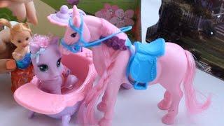 getlinkyoutube.com-Мультики для детей: Большая Пони купает маленькую Пони,My Little PONY.Видео для Девочек