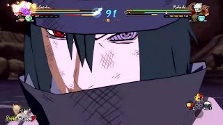 getlinkyoutube.com-Naruto Ultimate Ninja Storm 4 - The Last Sasuke Vs Kakashi Gameplay (60FPS)
