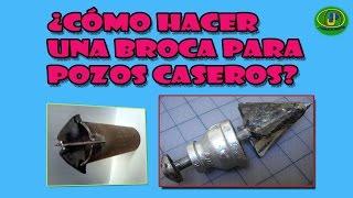 getlinkyoutube.com-COMO CONSTRUIR UNA BROCA PARA POZOS CACEROS
