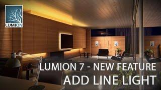 Lumion 7 Tutorial - Add Line Light