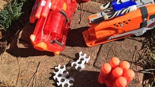 getlinkyoutube.com-Honest Review: 3-D Printed Nerf Sights and Other Accessories