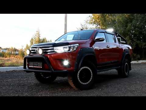 Toyota Hilux светодиодные LED лампы и фары