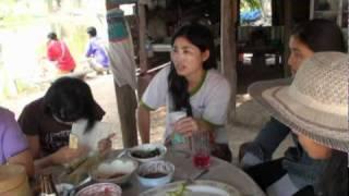 กินปลานาคุณเปเป้ อำเภอบ้านฝาง จังหวัดขอนแก่น  ปี 2554