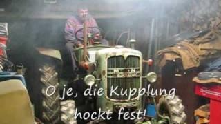 getlinkyoutube.com-MAN B18A Ackerdiesel: Erster Start nach 35 Jahren Dornröschenschlaf
