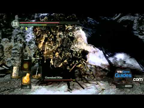 Dark Souls Walkthrough - Gravelord Nito Boss Fight (Part 075)