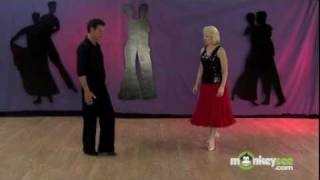 getlinkyoutube.com-Ballroom Dancing - The Basic Tango Pattern