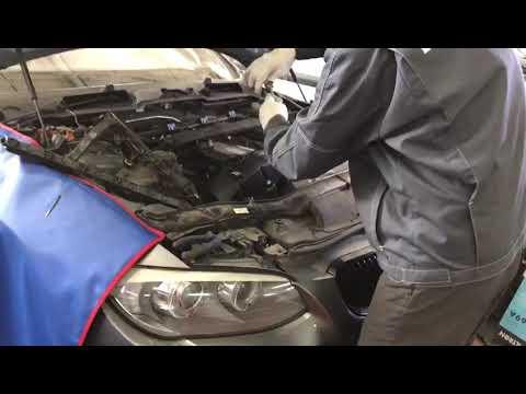 Замена клапанной крышки на BMW E92
