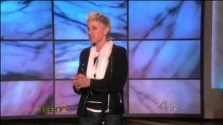 getlinkyoutube.com-Ellen Degeneres in Thigh High Boots