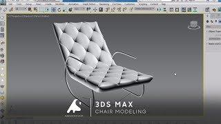 getlinkyoutube.com-3D Max 2017 Chair Modeling Tutorial