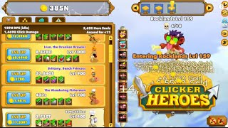 getlinkyoutube.com-Clicker Heroes Gameplay - Quick Ascension - Level 1 to 200 in 15 Minutes