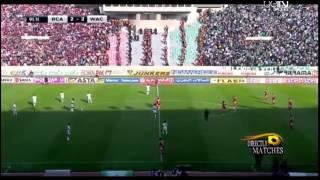 اهداف مباراة الرجاء البيضاوي والوداد البيضاوي 2 2 تعليق جواد بده RAJA vs WAC 2 2