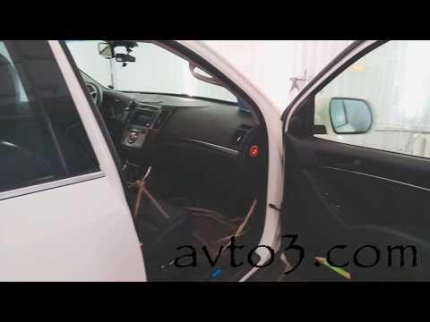 Как разобрать переднюю дверь Hyundai IX55 Veracruz