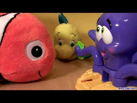 Play Doh Octopus Playset Disney Nemo Dory Flounder Sebastian
