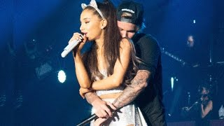 getlinkyoutube.com-Justin Bieber Gropes Ariana Grande In Concert
