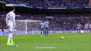 getlinkyoutube.com-Real Madrid vs Deportivo la Coruna 2:0  14.02.2015  La Liga