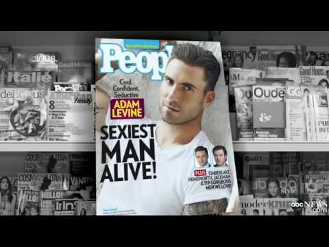 Adam Levine is People Magazine's 'Sexiest Man Alive'