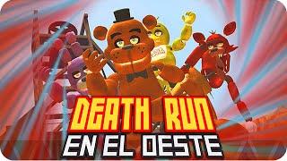getlinkyoutube.com-DEATHRUN EN EL OESTE! | Garrys Mod Western Death-Run con Exo, Macundra, Sarinha y Luh