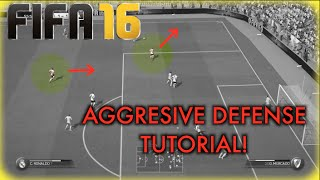 getlinkyoutube.com-FIFA 16 AGGRESIVE DEFENSE TUTORIAL! (How to beat LEGENDARY AI and Possesion Players)