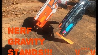 getlinkyoutube.com-Review: Magical Nerf Pistol Gravity Stands! ! ! (Physics  ;) )