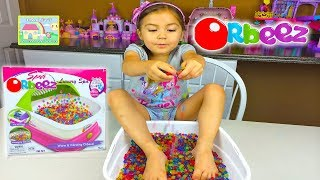 getlinkyoutube.com-ORBEEZ LUXURY SPA 2,200 Magic Orbeez Magically Grow in Water Tiny to Big! Kid-Friendly Toy Opening