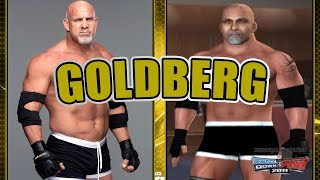 How to create Goldberg in SvR 2011 PS2